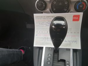 Automatic Driving Lessons Passed Driving Test