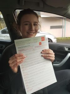 Emma Automatic Driving Lessons Passed Driving Test