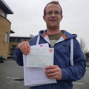 John Automatic Driving Lessons Passed Driving Test
