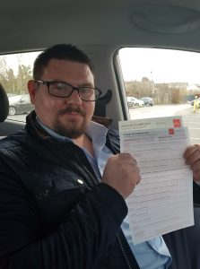 Kevin Automatic Driving Lessons Passed Driving Test