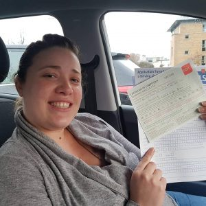 Michelle Automatic Driving Lessons Passed Driving Test