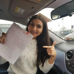 Orla Automatic Driving Lessons Passed Driving Test