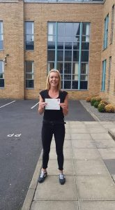 Sarah Automatic Driving Lessons Passed Driving Test
